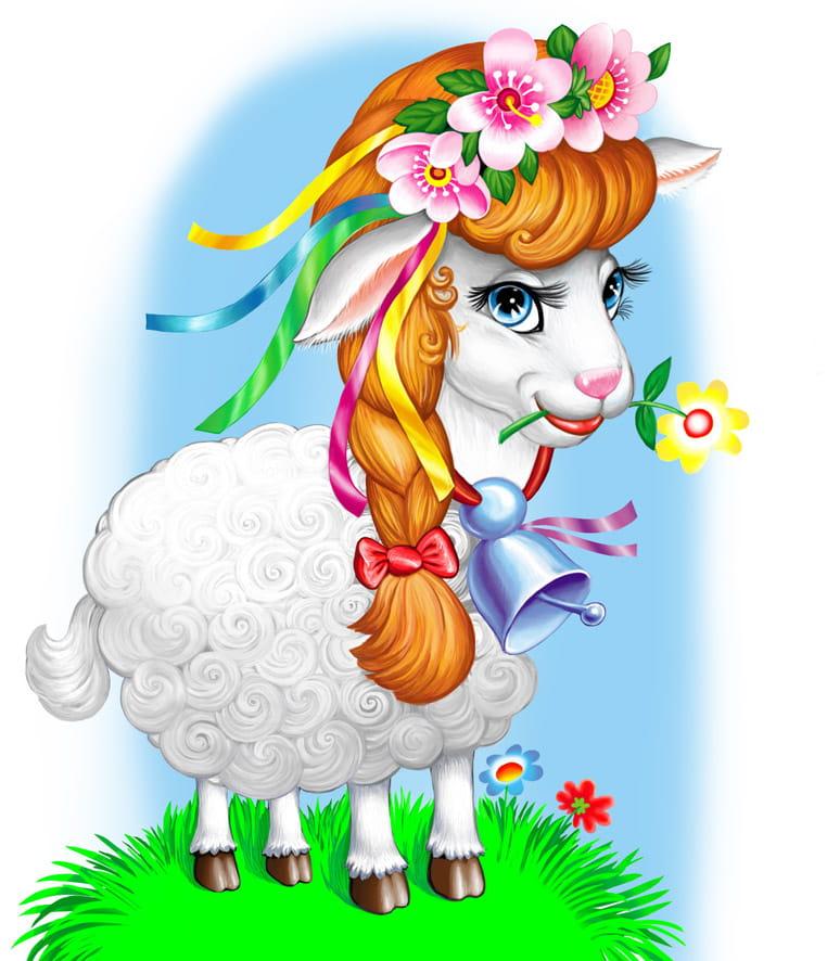 Картинка на год козы