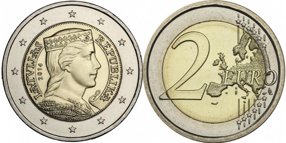 Юбилейные евро 2014 сколько денег стоит